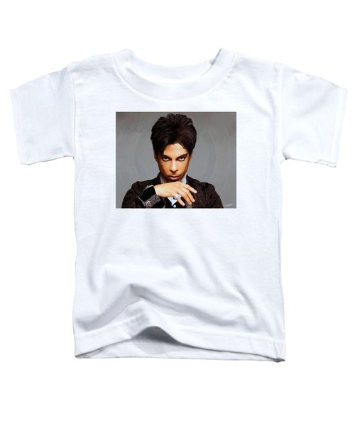 Prince Toddler T-Shirt by Paul Tagliamonte