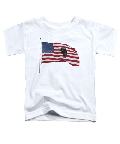 Proud To Be An American Toddler T-Shirt