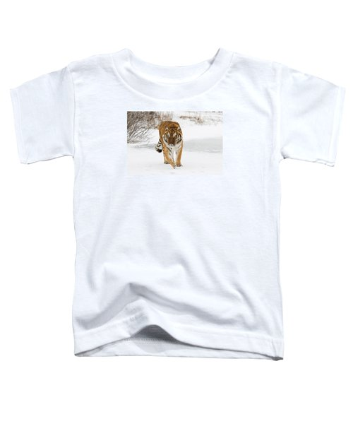 Prowling Tiger Toddler T-Shirt