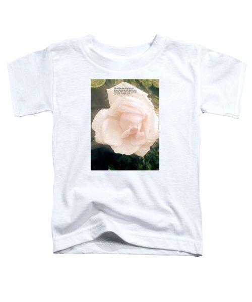 Psalm 23 Toddler T-Shirt