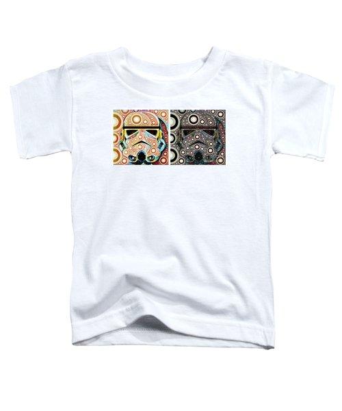 Psychedelic Binom Toddler T-Shirt