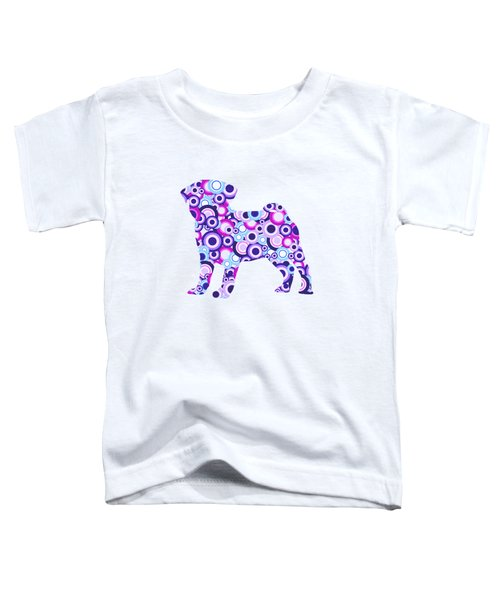 Pug - Animal Art Toddler T-Shirt