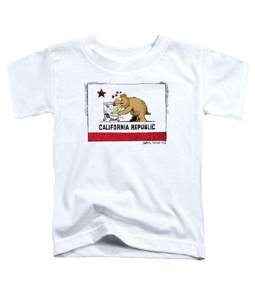 Puke Politics Toddler T-Shirt