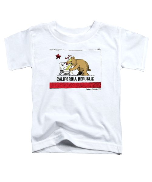 Puke Politics Toddler T-Shirt