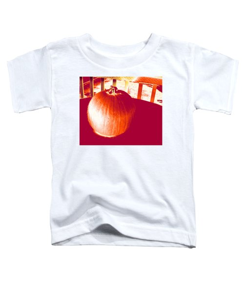 Pumpkin #1 Toddler T-Shirt
