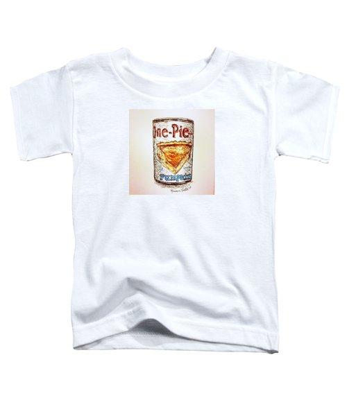 Pumpkin Pie Can Toddler T-Shirt