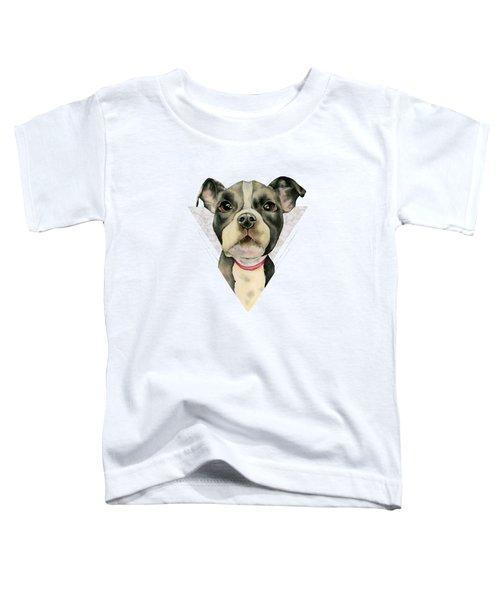Puppy Eyes 2 Toddler T-Shirt
