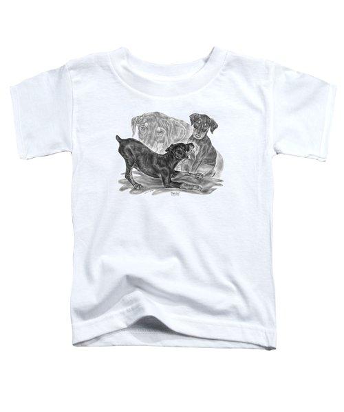 Puppy Love - Doberman Pinscher Pup Toddler T-Shirt