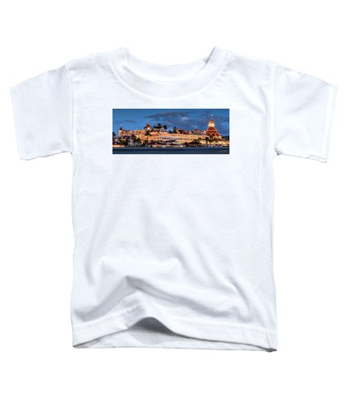 Pure And Simple Pano 48x18.5 Toddler T-Shirt