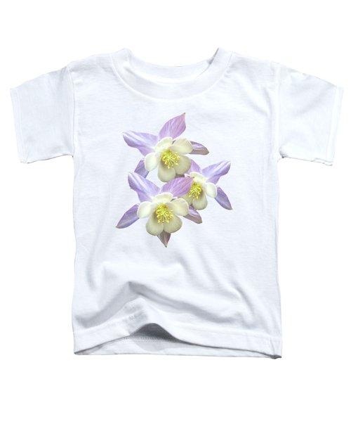 Purple Aquilegia Toddler T-Shirt