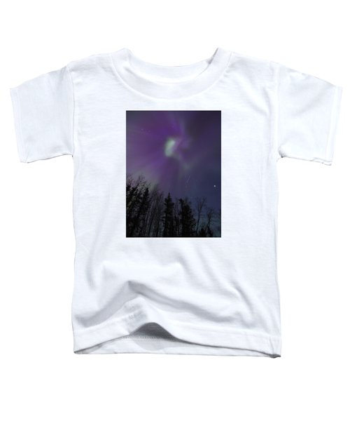 Purple Corona Toddler T-Shirt