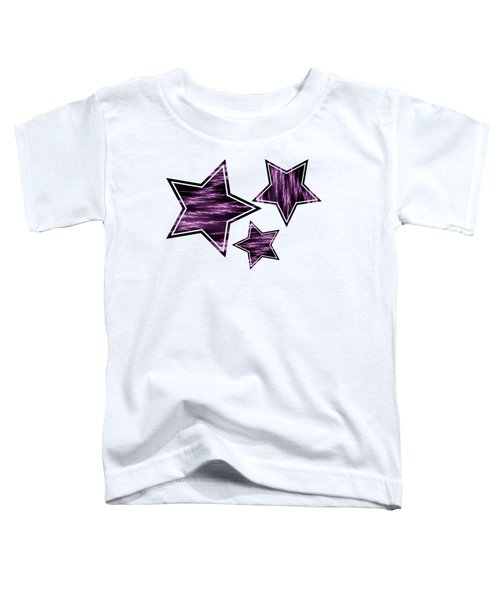 Purple Lightening Toddler T-Shirt