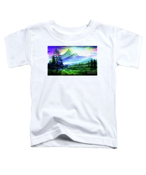 Purple Mountains Majesty Toddler T-Shirt