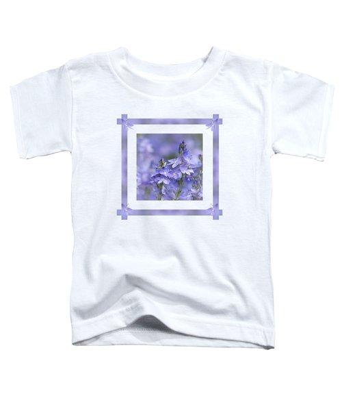 Purple Ribbons Toddler T-Shirt