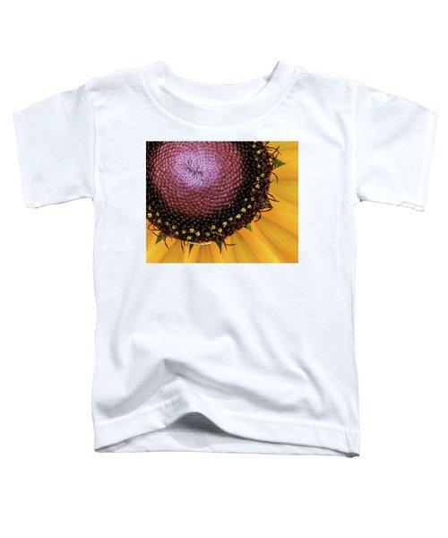 Purple Spirals Toddler T-Shirt