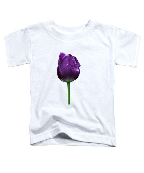Purple Tulip T Toddler T-Shirt