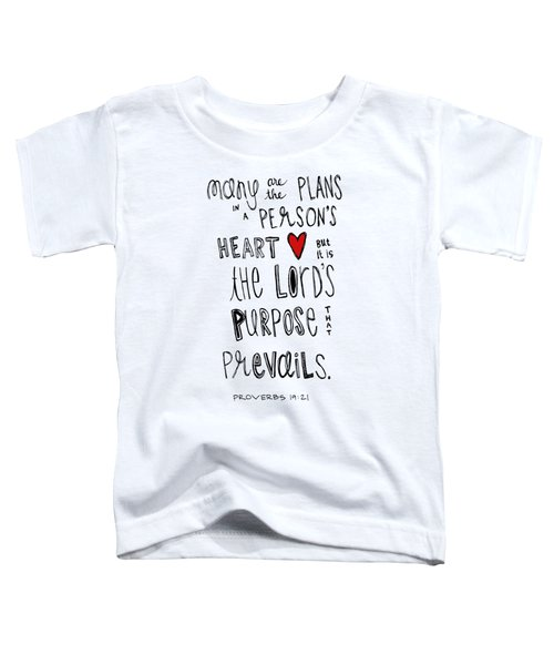 Purpose Toddler T-Shirt
