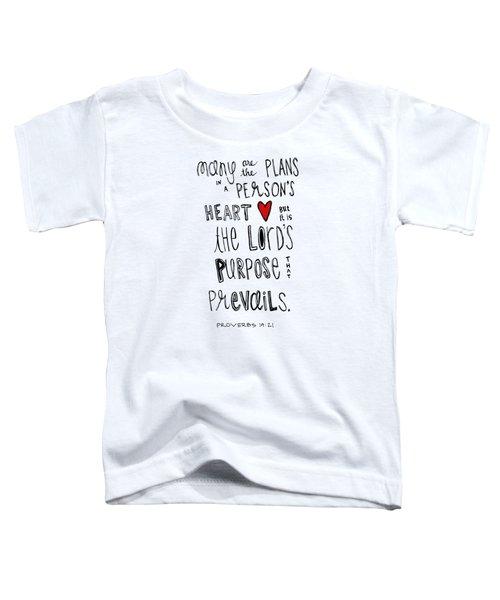 Purpose Toddler T-Shirt