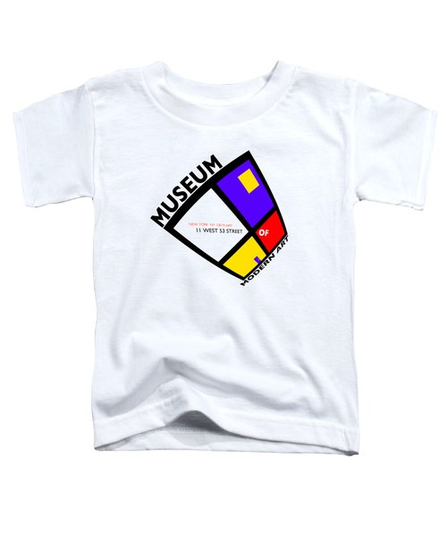 Putting On De Stijl Toddler T-Shirt