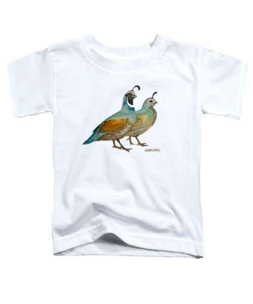 Quail Pair Toddler T-Shirt