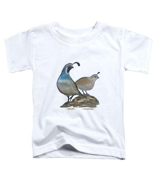 Quail Parents Wondering Toddler T-Shirt
