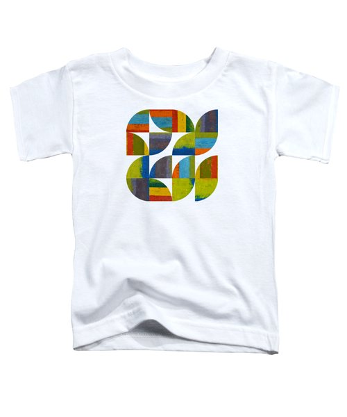 Quarter Rounds 4.0 Toddler T-Shirt by Michelle Calkins