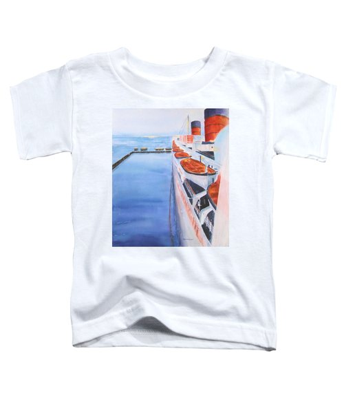 Queen Mary From The Bridge Toddler T-Shirt