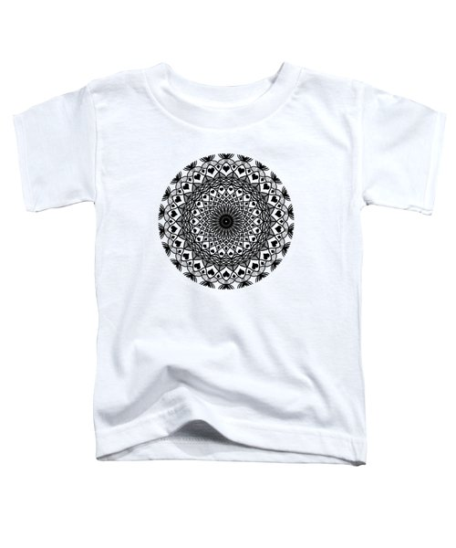 Queen Of Hearts King Of Diamonds Mandala Toddler T-Shirt