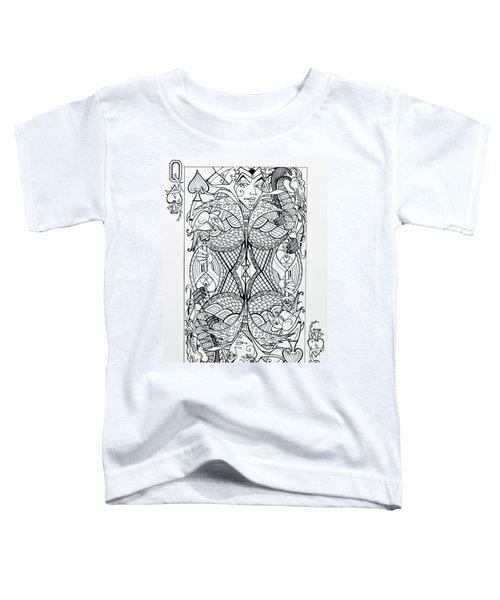 Queen Of Spades  Toddler T-Shirt