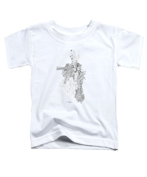 Queen Of The Afternoon Toddler T-Shirt