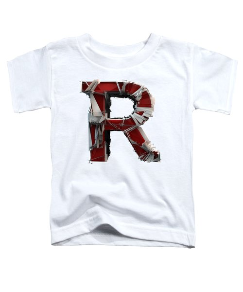 R Is Rock N Roll Toddler T-Shirt