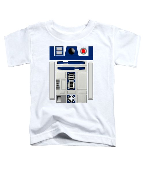 R2d2 Toddler T-Shirt by Janis Marika