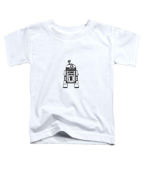 R2d2 Star Wars Robot Toddler T-Shirt