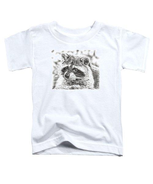 Raccoon Toddler T-Shirt