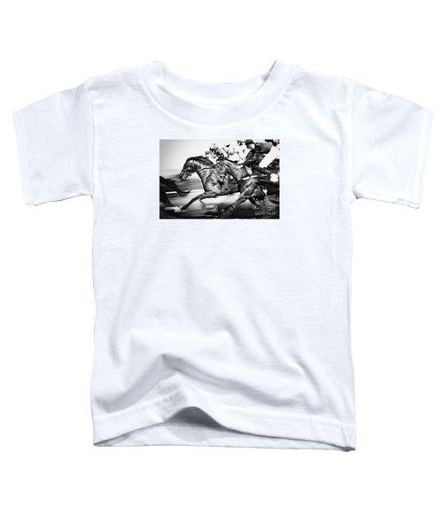 Racing Horses Toddler T-Shirt