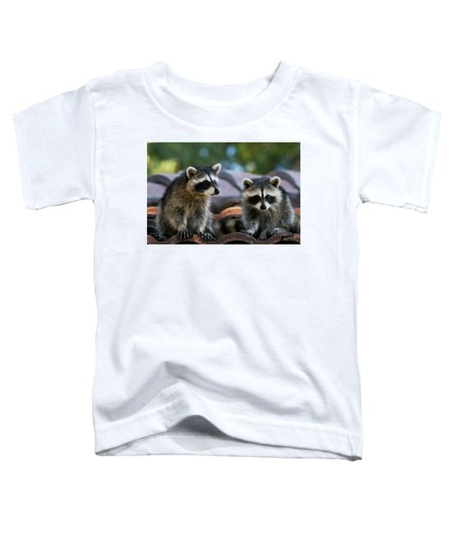 Racoons On The Roof Toddler T-Shirt