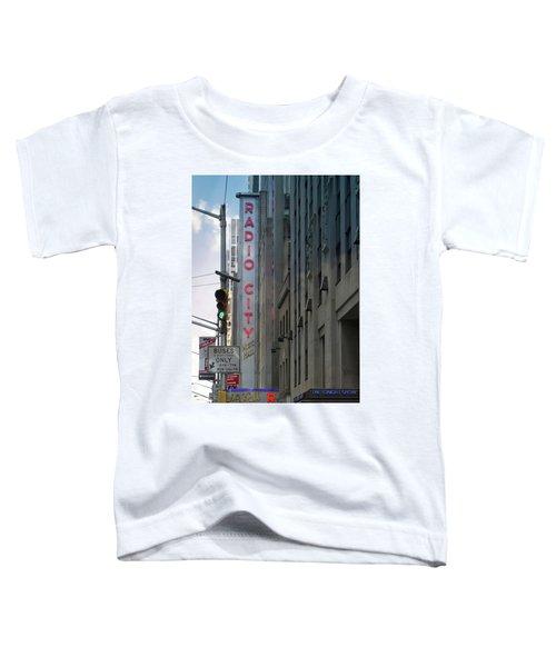 Radio City Music Hall Toddler T-Shirt