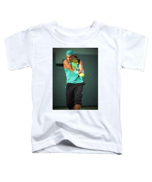 Rafael Nadal Toddler T-Shirt