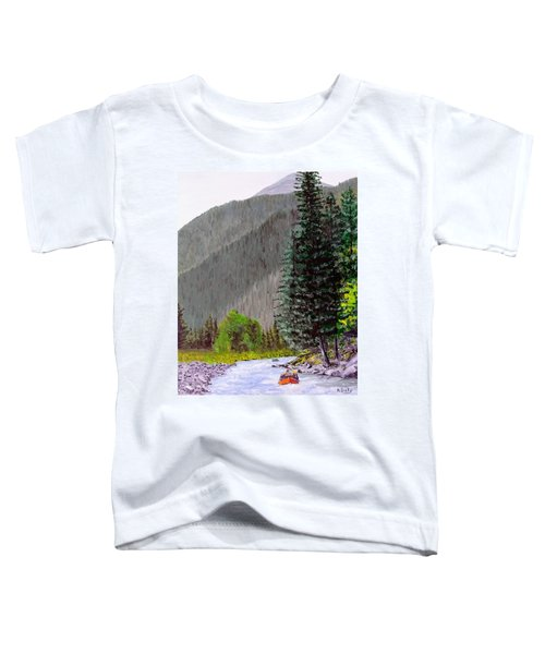 Rafting The Gallatin Toddler T-Shirt
