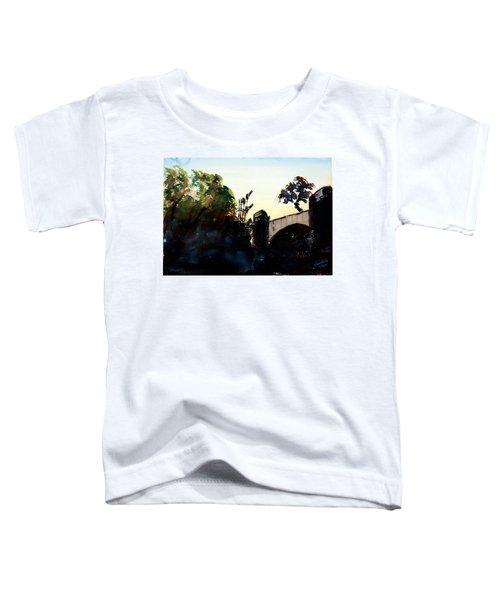 Rail Crossing Bridge Toddler T-Shirt