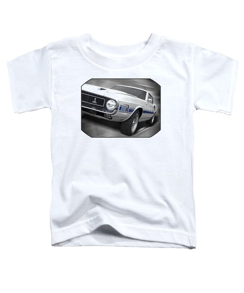 Rain Won't Spoil My Fun - 1969 Shelby Gt500 Mustang Toddler T-Shirt