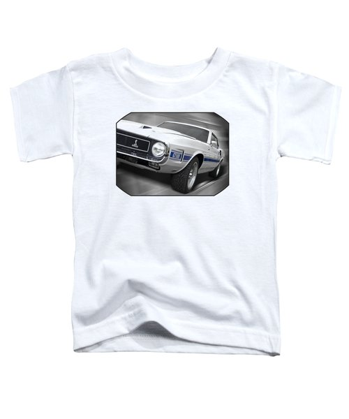 Rain Won't Spoil My Fun - 1969 Shelby Gt500 Mustang Toddler T-Shirt