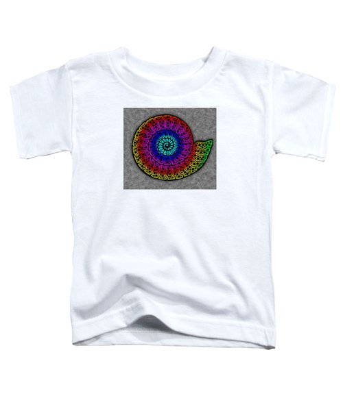 Rainbow Ammonite Toddler T-Shirt