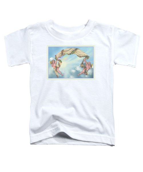 Rainbow Angels Toddler T-Shirt
