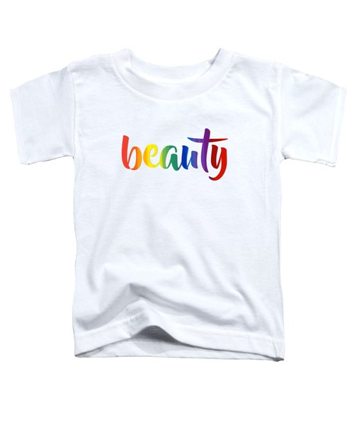 Rainbow Beauty Toddler T-Shirt