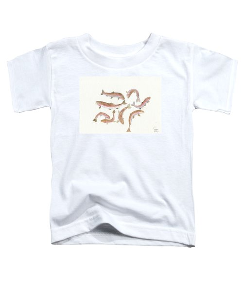 Rainbow Trout Toddler T-Shirt by Gareth Coombs
