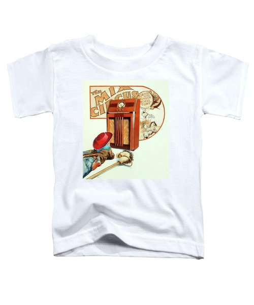 Raised On The Radio 2 Toddler T-Shirt