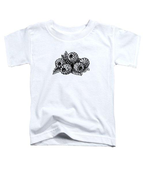 Raspberries Image Toddler T-Shirt