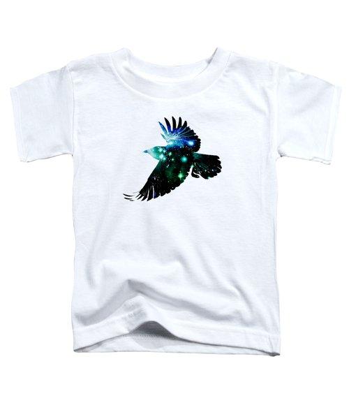 Raven Toddler T-Shirt by Anastasiya Malakhova