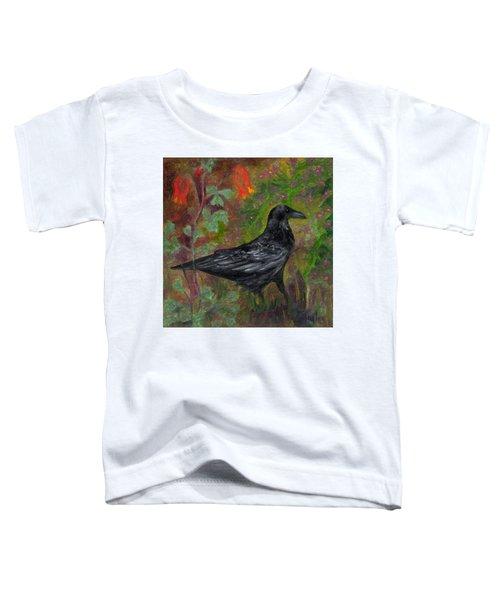 Raven In Columbine Toddler T-Shirt